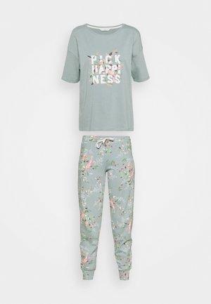 HAPPINESS - Pyjamas - aqua