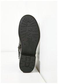 Inuovo - Cowboy/biker ankle boot - black blk - 5