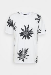 Only & Sons - ONSPOLE TEE - Print T-shirt - bright white - 4