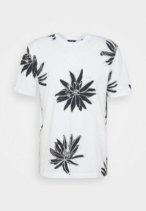 ONSPOLE TEE - Print T-shirt - bright white