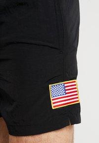 Mister Tee - NASA WORM LOGO SWIM - Shorts - black - 5