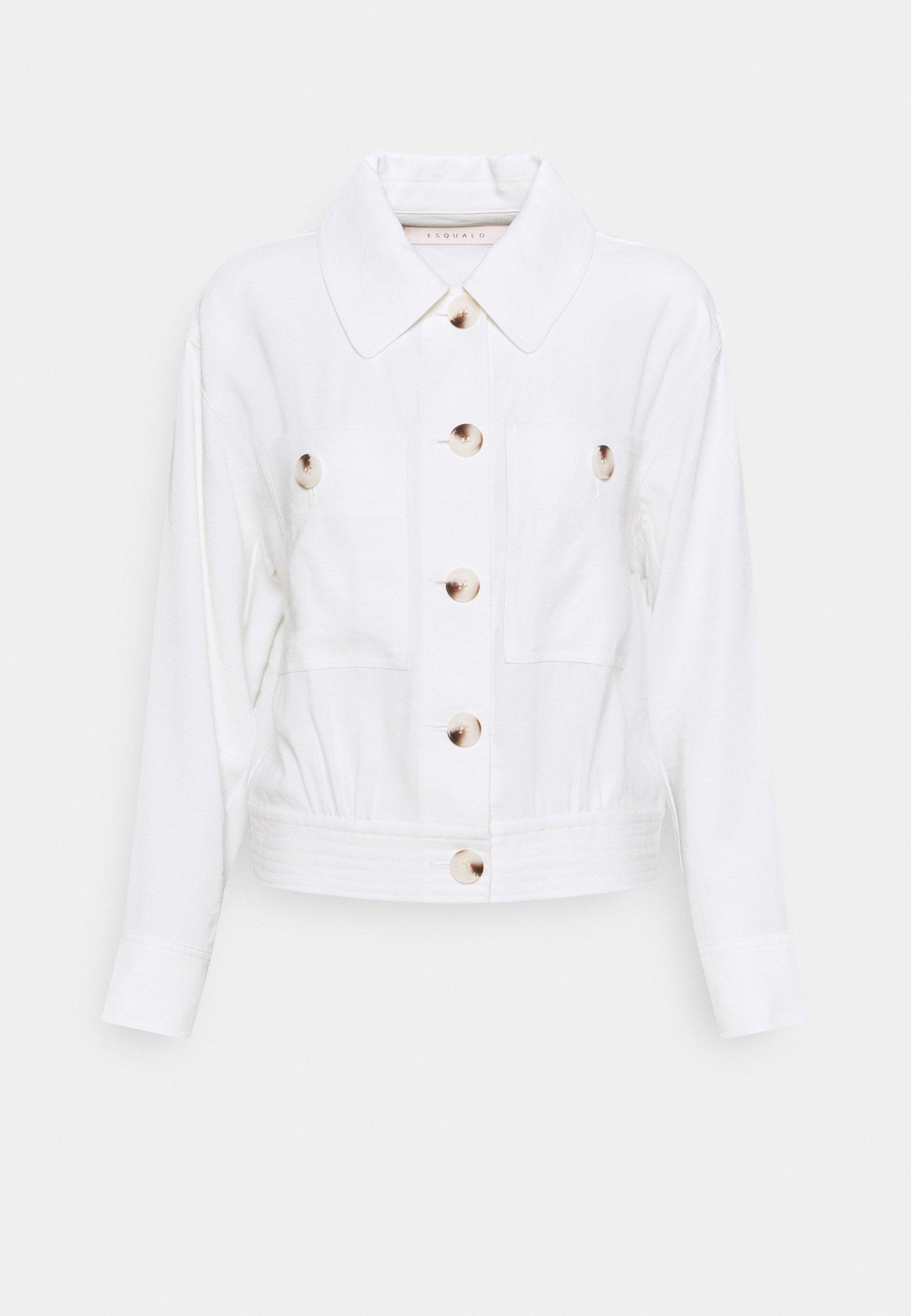 Women JACKET CROP DOBBY - Summer jacket