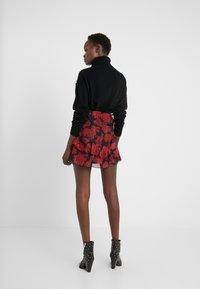 The Kooples - JUPE - A-line skirt - red/black - 2