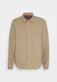 SLHSUSTAINABLE ICONICS COACH - Summer jacket - petrified oak