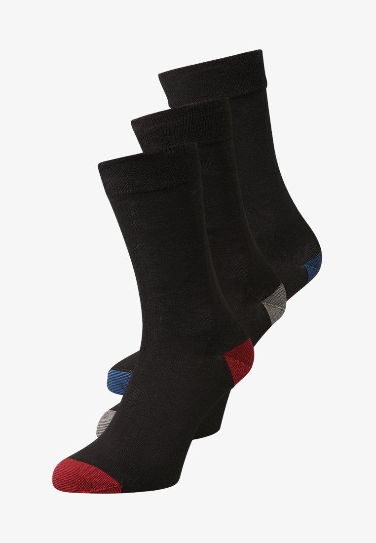 DIM - MIX & MATCH 3 PACK - Ponožky - noir/bleu/cobalt