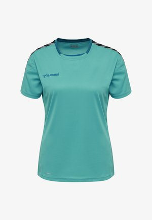 HMLAUTHENTIC  - T-shirt print - bluebird