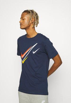 TEE - Print T-shirt - midnight navy