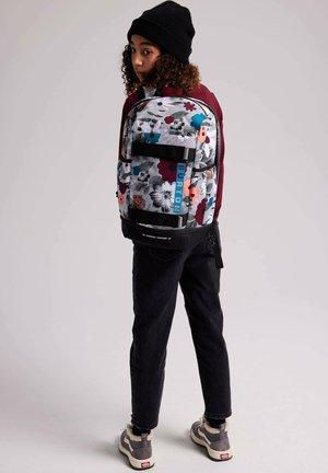 DISTORTION LITER FUR - School bag - halftone floral