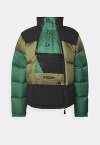 STEEP TECH JACKET UNISEX - Down jacket - burnt olive green/evergreen/black