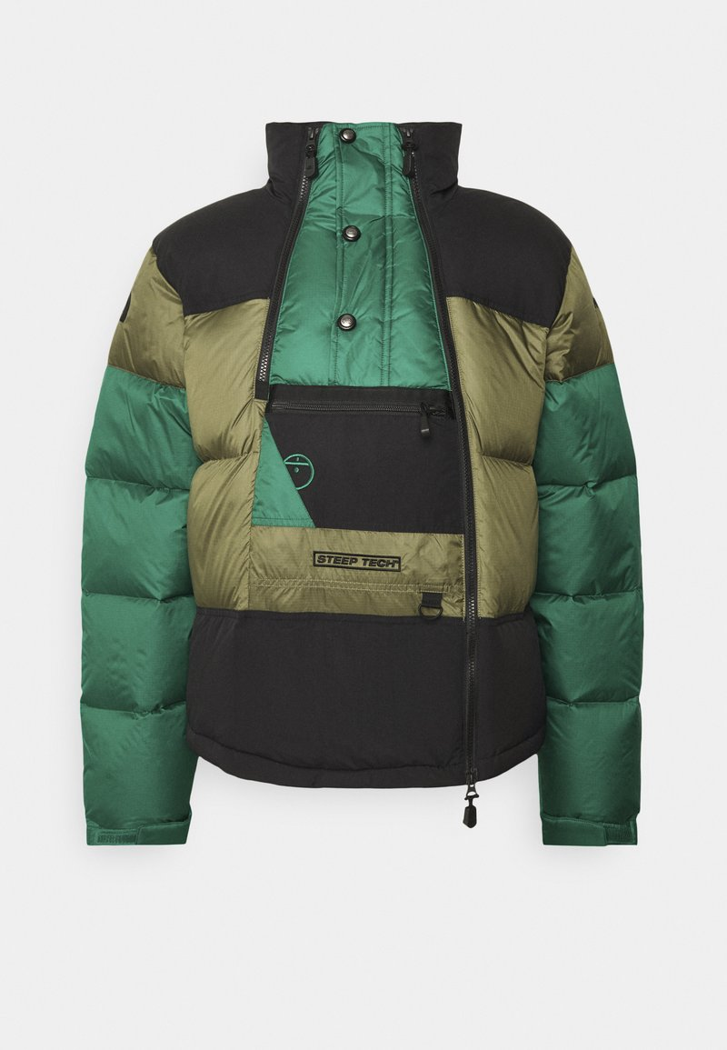 The North Face - STEEP TECH JACKET UNISEX - Down jacket - burnt olive green/evergreen/black