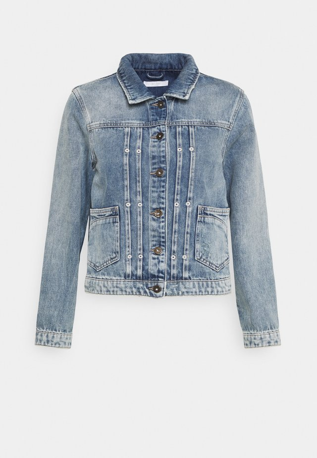 SMILE JACKET - Denim jacket - denim