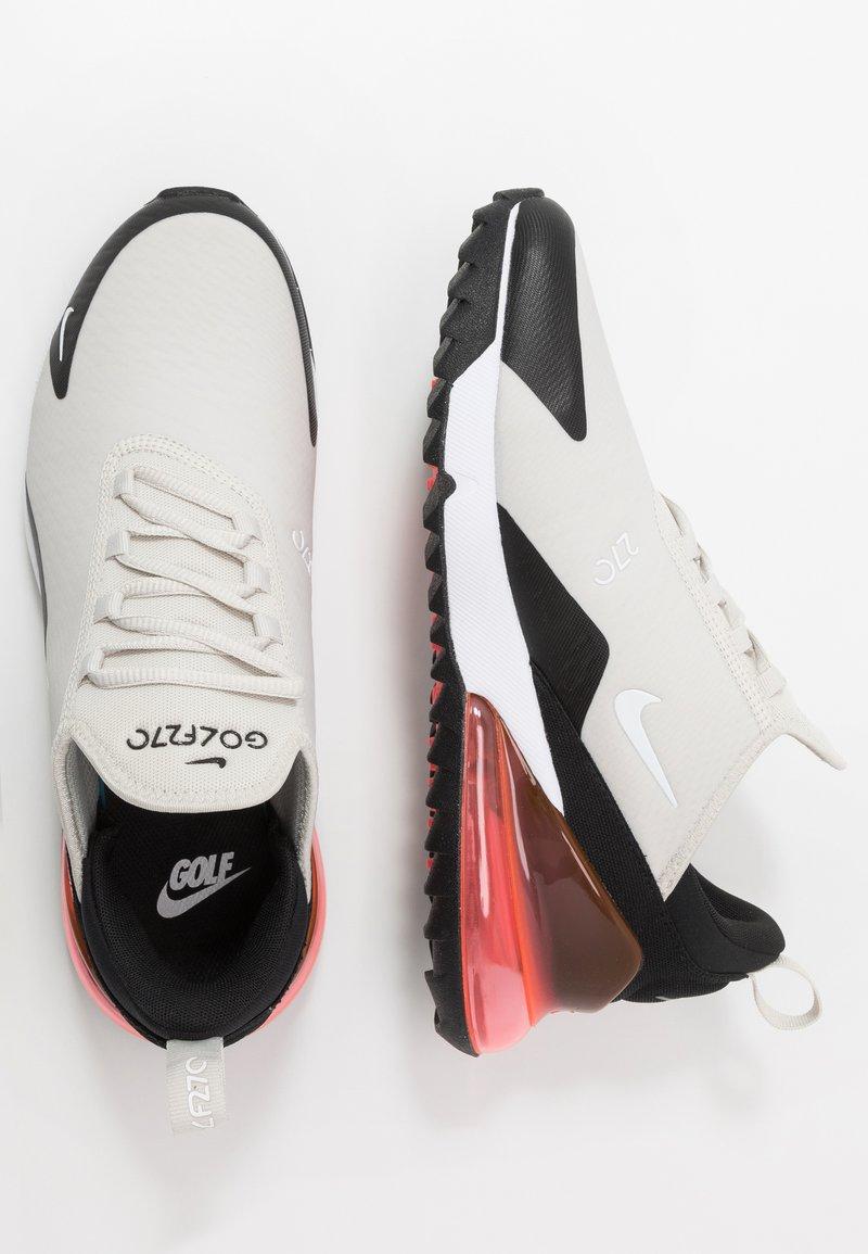 Nike Golf Air Max 270 G Golf Shoes Light Bone White Black Hot Punch Zalando De