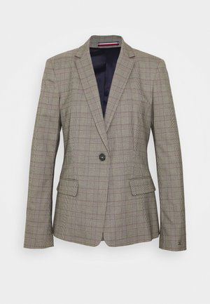 POW CHECK  - Blazer - black