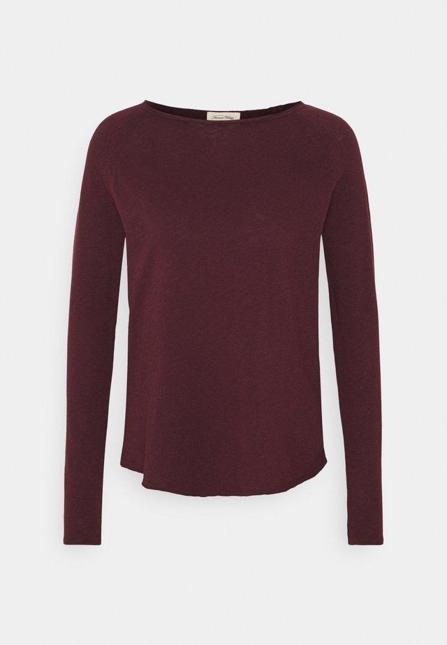 SONOMA - T-shirt à manches longues - griotte