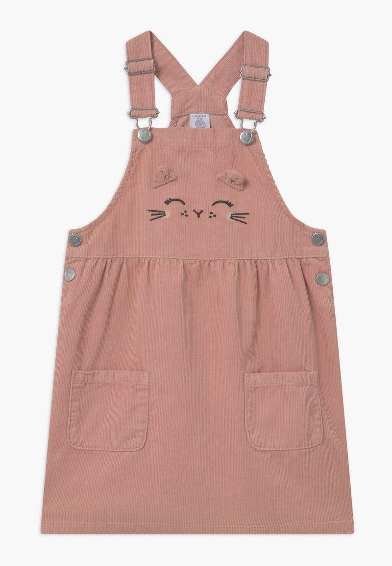 Lindex - MINI DRESS MAGGIE - Denní šaty - dusty pink