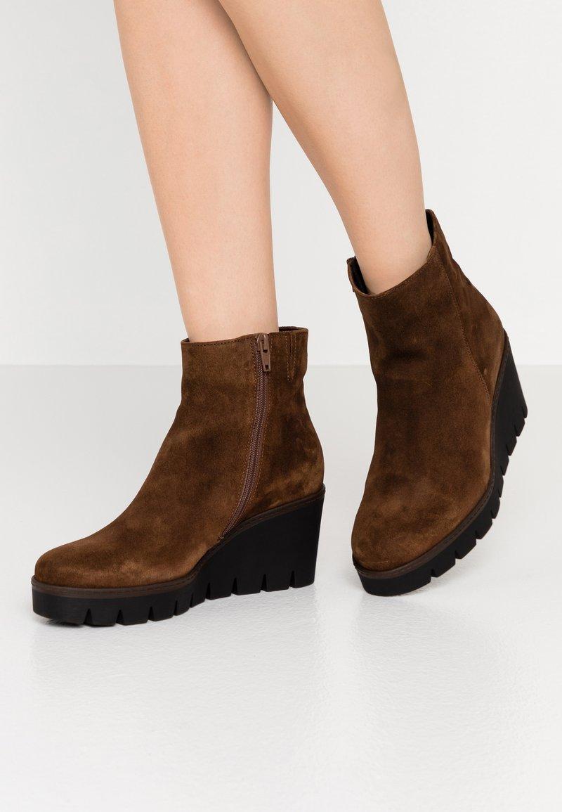 Gabor - Ankle boots - cognac