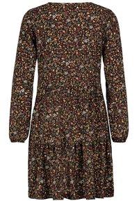 Sublevel - FREIZEITKLEID MIT BLUMENPRINT - Day dress - black - 4