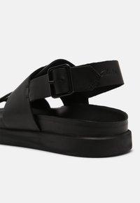 Clarks - SUNDER STRAP - Sandals - black - 4