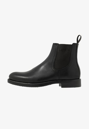 LUKE CHELSEA UOMO HIGH - Classic ankle boots - black