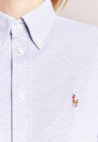 Polo Ralph Lauren - HEIDI LONG SLEEVE - Button-down blouse - andover heather - 3
