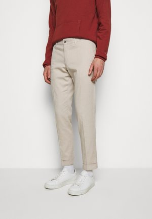 GRANT STRETCH PANTS - Chino kalhoty - sand grey