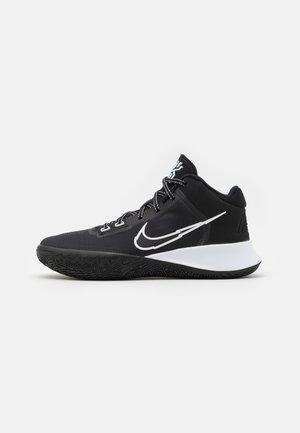 KYRIE FLYTRAP 4 - Basketball shoes - black/white/metallic silver
