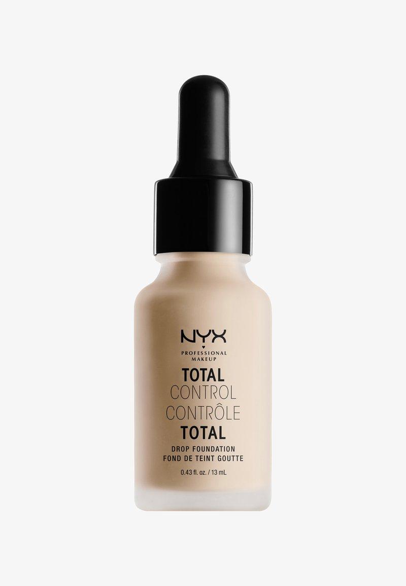 Nyx Professional Makeup - TOTAL CONTROL DROP FOUNDATION - Foundation - 5 light