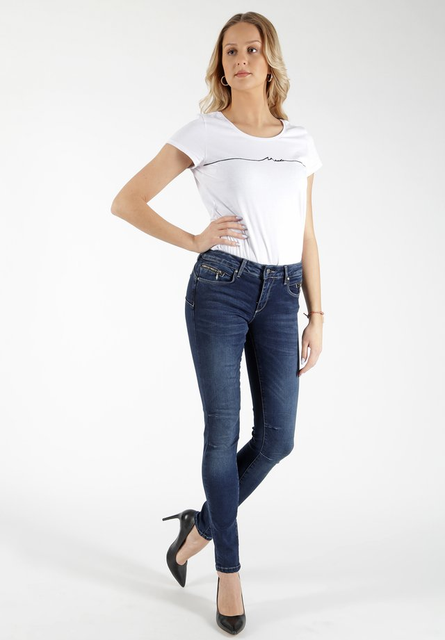 EVA - Slim fit jeans - blau
