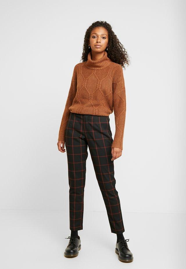 JDYTRIXIE PANT - Spodnie materiałowe - black