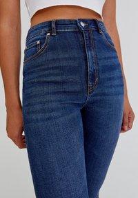 PULL&BEAR - Jeans Skinny Fit - dark blue - 3