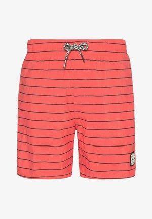 BJORN 21 JR - Swimming trunks - deep coral