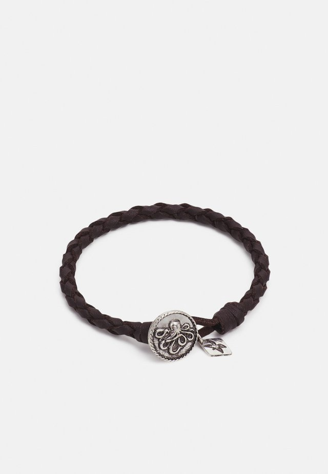 HOOKED OCTOPUS BRACELET - Armband - silver-coloured