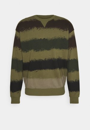 LOGO CREW NECK - Bluza - green