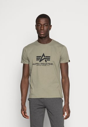 RAINBOW  - T-shirt med print - olive