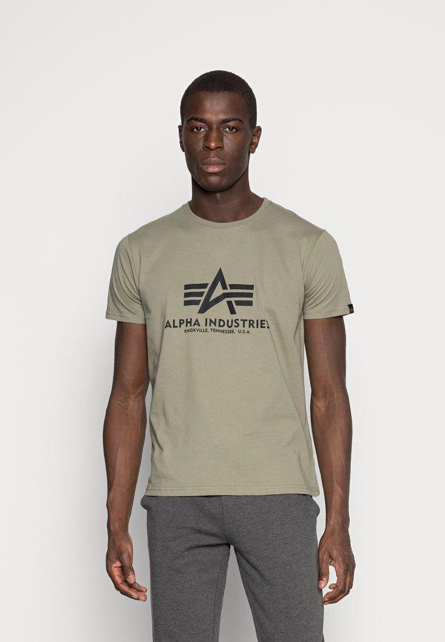 RAINBOW  - Print T-shirt - olive