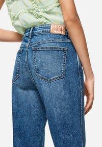 Pepe Jeans - DUA LIPA X PEPE JEANS  - Jeansy Straight Leg - blue denim - 3