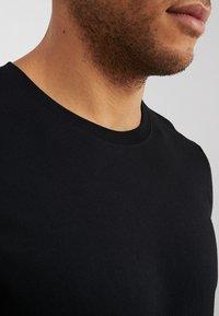 Benetton - BASIC CREW NECK - Bluzka z długim rękawem - black - 4