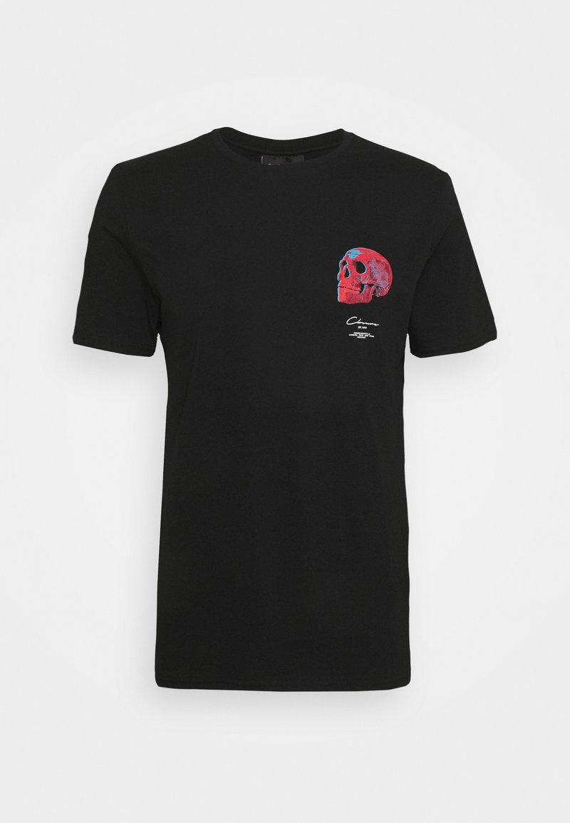 CLOSURE London - CALVA TEE - Print T-shirt - black