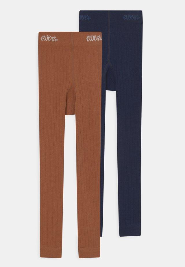 2 PACK - Leggingsit - multi-coloured