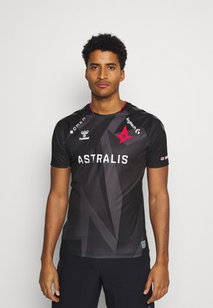 ESPORTS ASTRALIS 20/21 GAME JERSEY S/S - T-shirt z nadrukiem - black