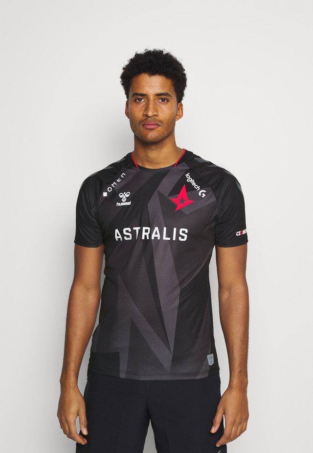 ESPORTS ASTRALIS 20/21 GAME JERSEY S/S - Print T-shirt - black