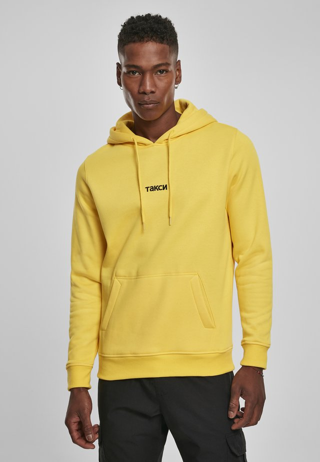 TAXI - Felpa con cappuccio - yellow