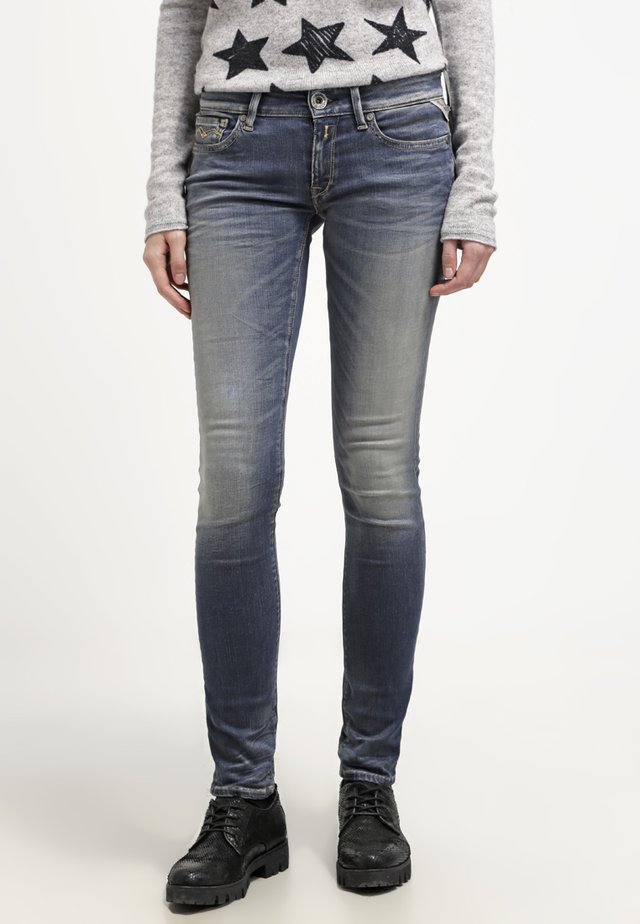 HYPERFLEX LUZ - Jeans Skinny Fit - stone blue