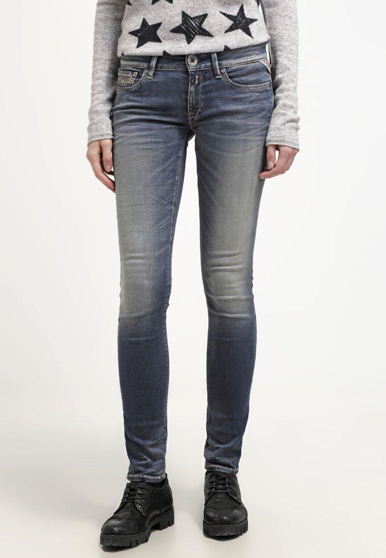 Replay - HYPERFLEX LUZ - Jeans Skinny Fit - stone blue