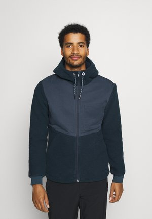 MANUKAU FLEECE JACKET - Fleecetakki - steelblue