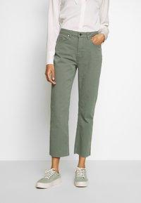 Aaiko - CEYDA - Straight leg jeans - steel green - 0