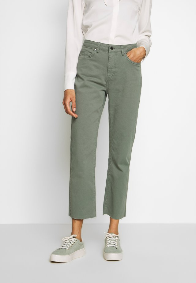 CEYDA - Jeans Straight Leg - steel green