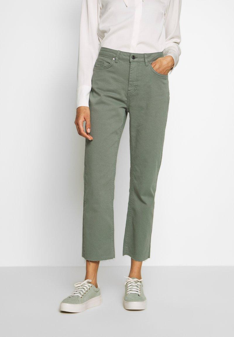 Aaiko - CEYDA - Straight leg jeans - steel green