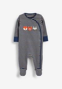 Next - 3 PACK - Sleep suit - dark blue - 3