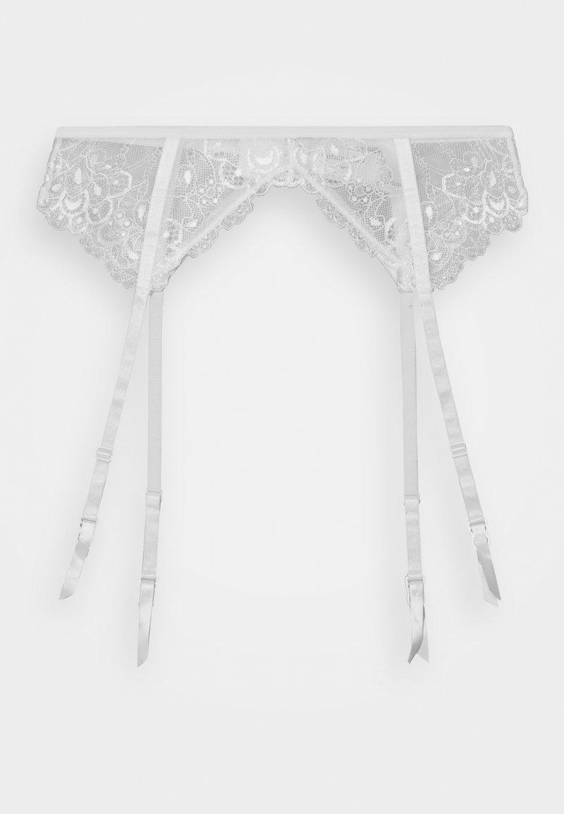 Hunkemöller - GARTERBELT - Suspenders - white